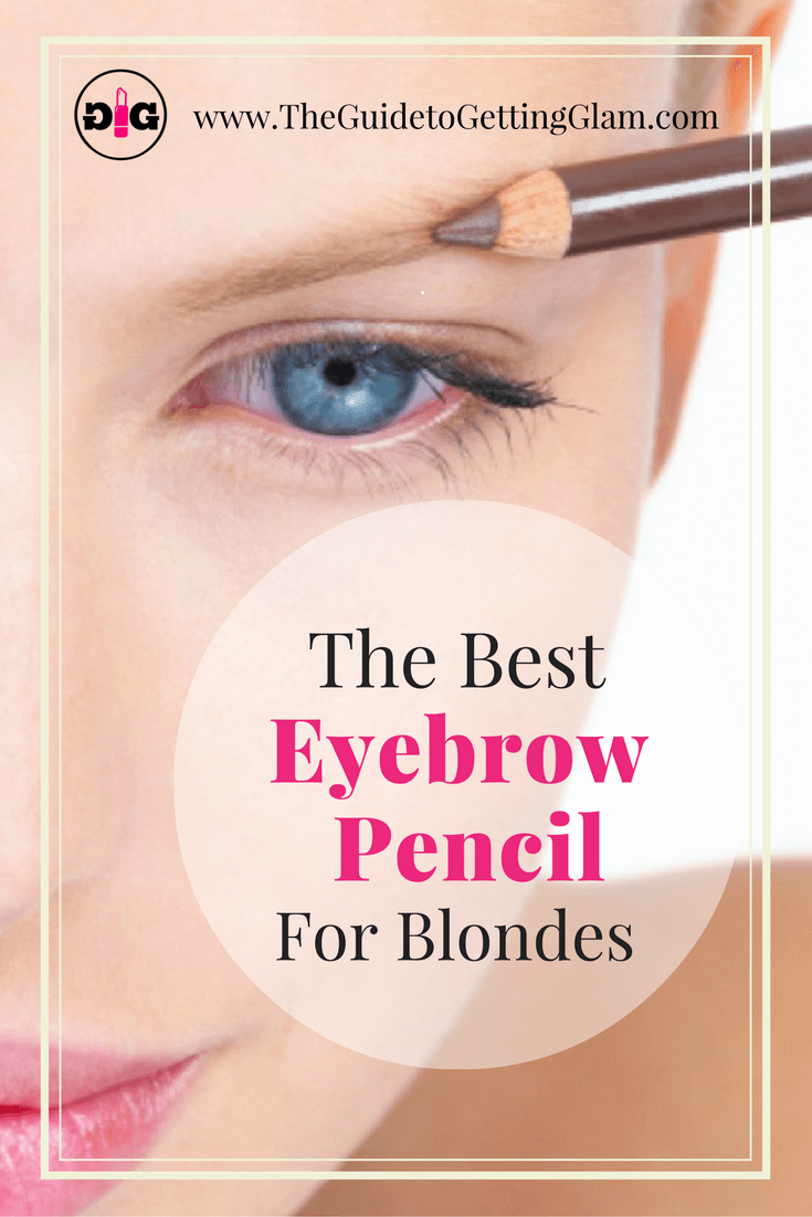 Great makeup artist tip for the best eyebrow pencil for blondes.
