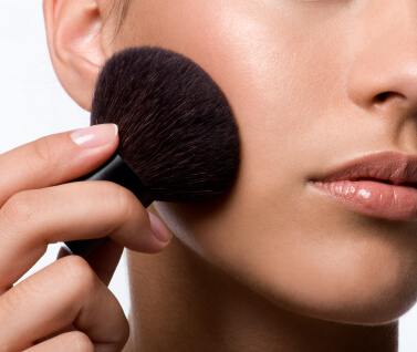 How to Fake it... How to Apply Powder Bronzer