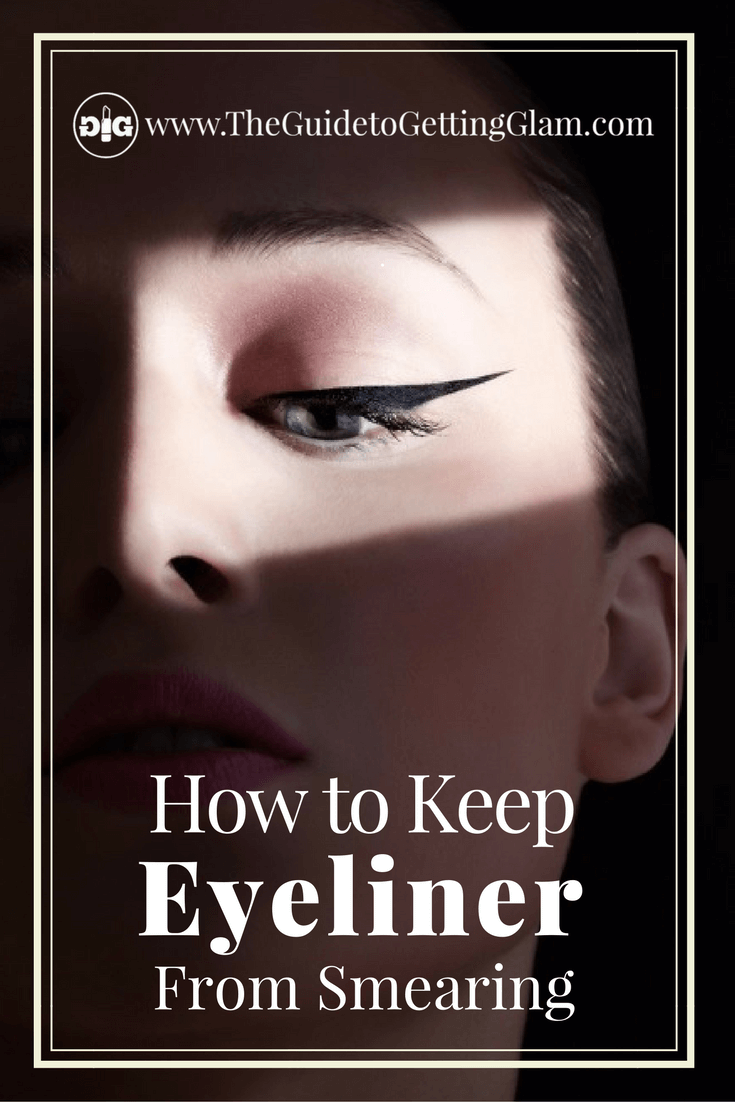 Three makeup artist tips to keep eyeliner from smearing. Want to get a great makeup tip to keep eyeliner from smearing and smudging? Click to find out what this makeup artist recommends as the best way to keep your eyeliner from smudging, smearing, and disappearing.