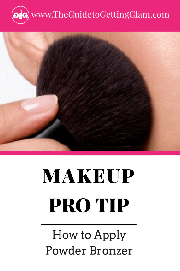 Makeup Pro Tip How to Apply Powder Bronzer for the most natural application