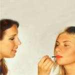 Orange Lipstick Makeup Tutorial