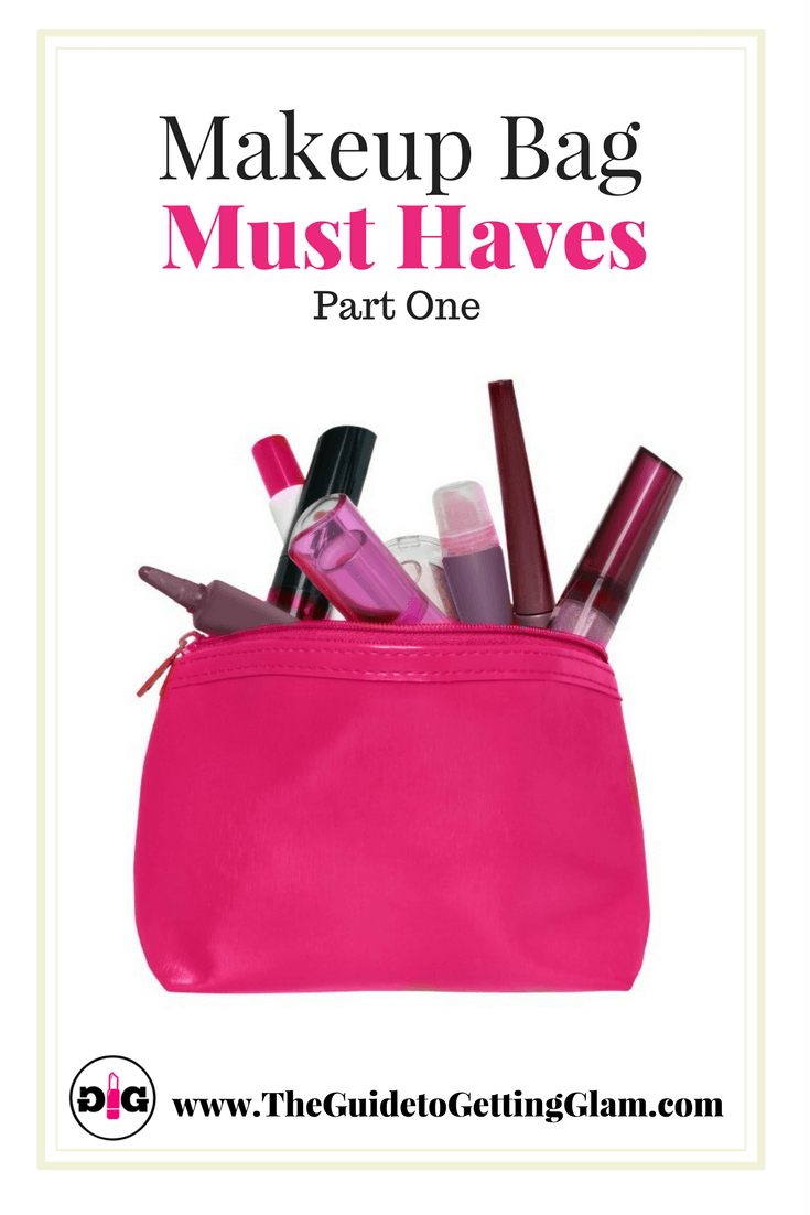 Find out what key products are recommended by a makeup artist to keep in your makeup bag.
