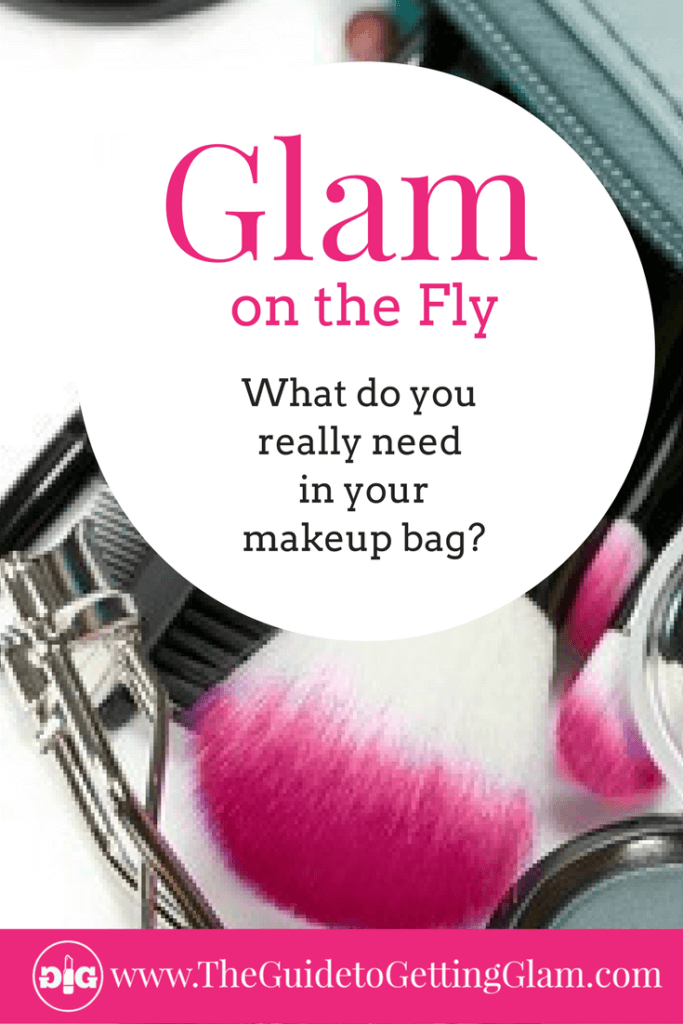 Makeup Bag Must Haves.What do your really need to keep in your makeup bag? These three makeup bag must haves will make it easy to touch up your makeup on the go.