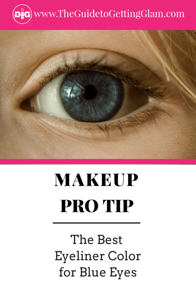The Best Eyeliner Color for Blue Eyes. Here are simple makeup tips to find the best eyeliner color to bring out blue eyes.