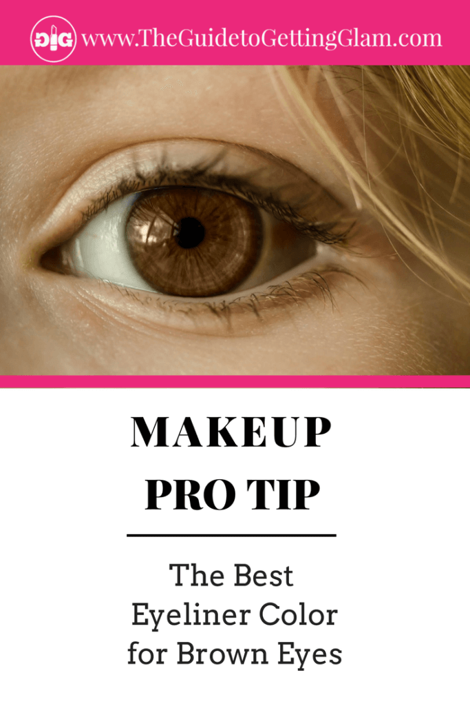 The Best Eyeliner Color for Brown Eyes. Here are simple makeup tips to find the best eyeliner color to bring out brown eyes.