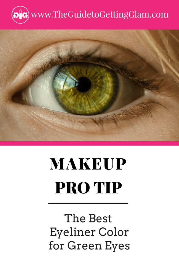 The Best Eyeliner Color for Green Eyes. Here are simple makeup tips to find the best eyeliner color to bring out green eyes.
