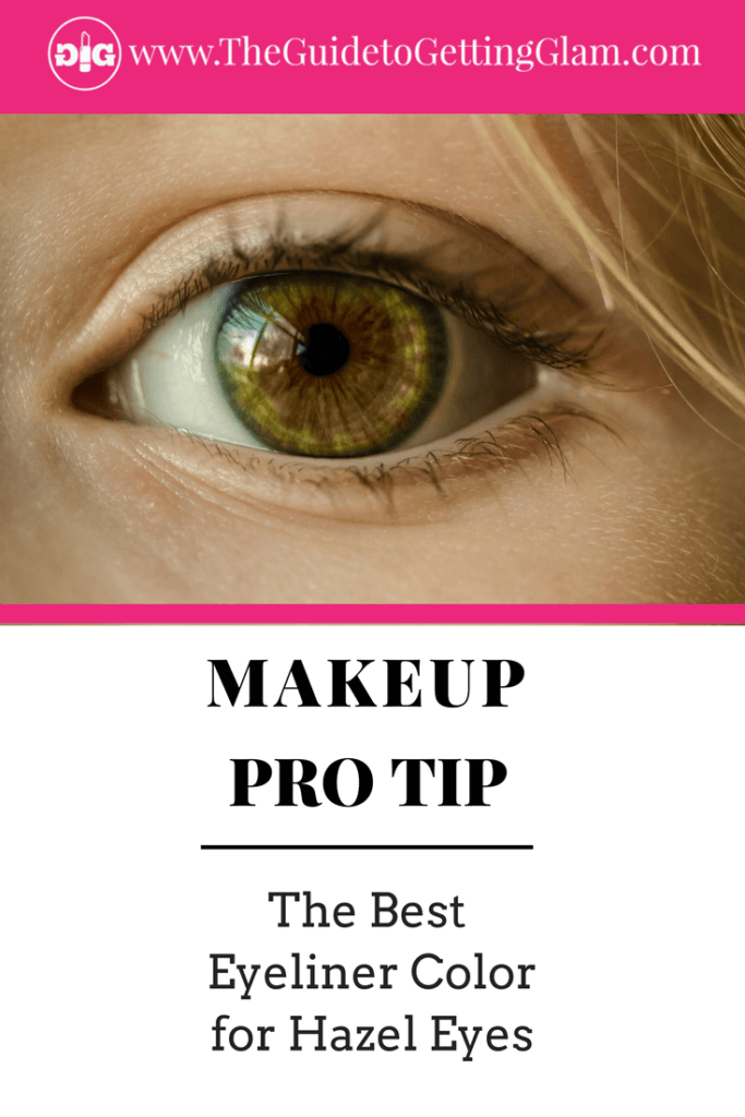 The Best Eyeliner Color for Hazel Eyes. Here are simple makeup tips to find the best eyeliner color to bring out hazel eyes.