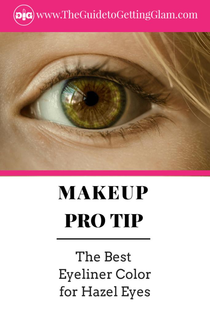 The Best Eyeliner Color for Hazel Eyes. Here are simple makeup tips to find the best eyeliner color to bring out hazel eyes.