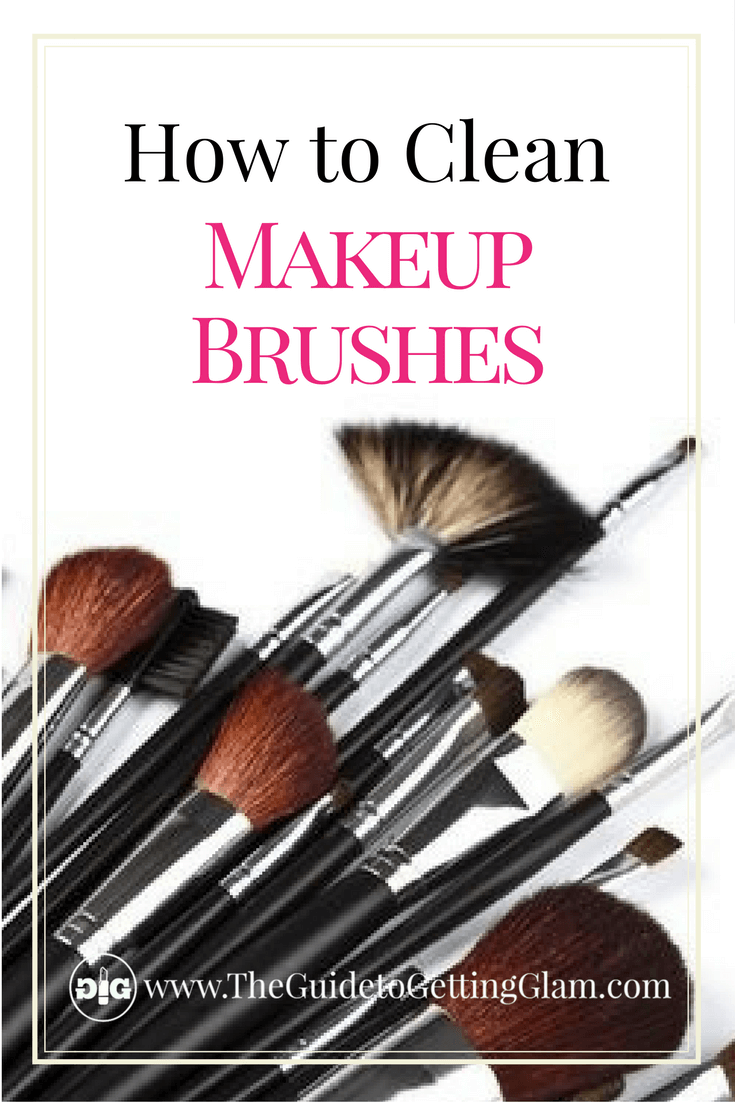 Great makeup artist tips on how to clean makeup brushes the right way.