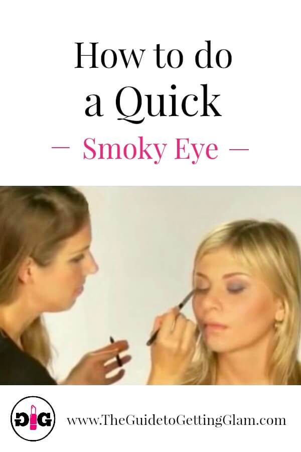 Smoky eye makeup can be easy! Watch this makeup artist tutorial to learn how to do a quick smoky eye in three easy steps.