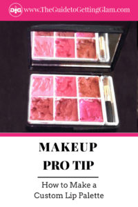 How to Make a Custom Lip Palette. Learn how you can save money on lipstick by making your own custom lip palette. Click to read this makeup tutorial on how to DIY your own lipstick palette that will save you space in your makeup bag.