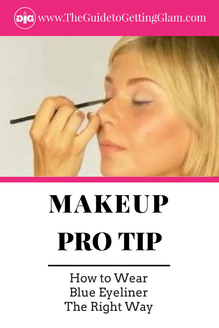 Want to learn how to wear blue eyeliner the right way? Watch this pro makeup artist tutorial to learn the best way to wear electric blue eyeliner.