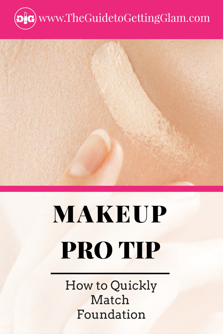 Makeup Pro Tip How to Quickly Match Foundation. Get pro makeup artist tips on how to match the right shade of foundation for your skin when you are on the go.