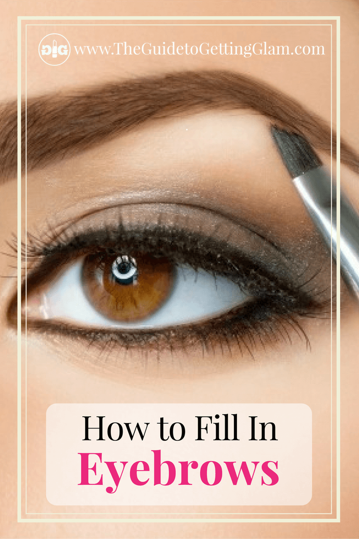 Want to know how to fill in your eyebrows? Here is a two step process to fill in your eyebrows for a long lasting, natural look.
