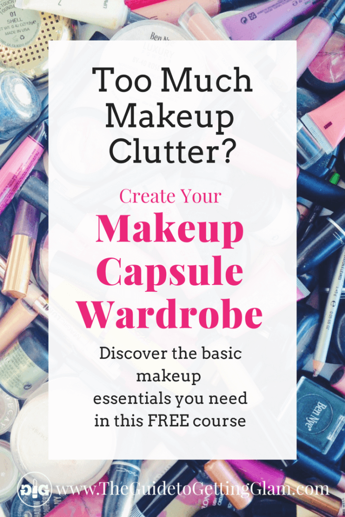 Discover what basic makeup essentials you need with this FREE email course to Create Your Makeup Capsule Wardrobe. You will learn to reduce makeup clutter, streamline your morning makeup routine and create your signature look.