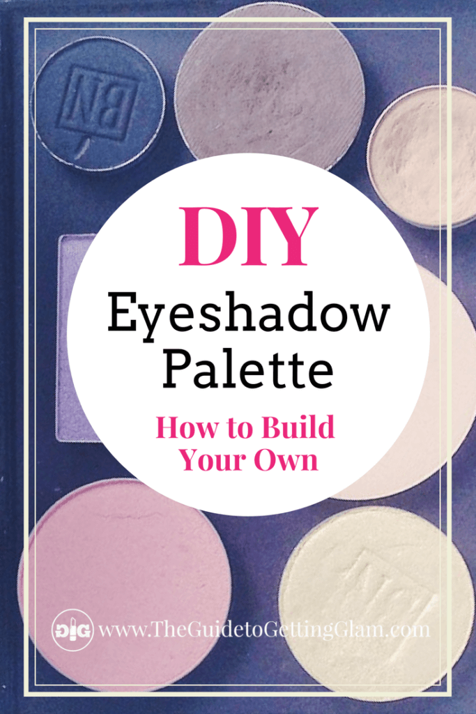 Eyeshadow Palette DIY. What is the best eyeshadow palette? One that you can make yourself! Read this tutorial about how to create your own eyeshadow palette out of your favorite eyeshadow pots.