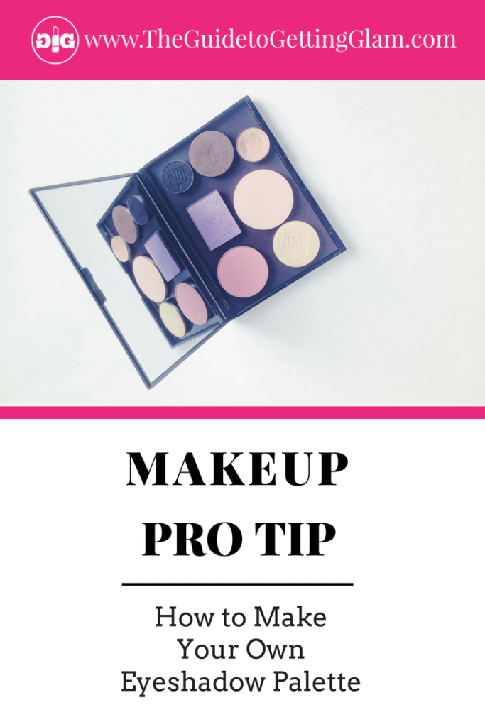 How to Make Your Own Eyeshadow Palette. Learn to build your own custom eyeshadow palette with your favorite eyeshadow pots. Read this makeup artist tutorial about how to create your own diy makeup palette!