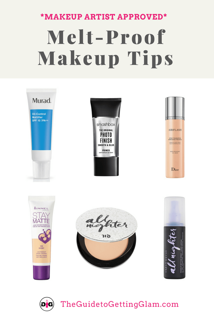 Meltproof Makeup Tips. Find out how to beat the heat this summer with these makeup artist approved products for sweatproof makeup