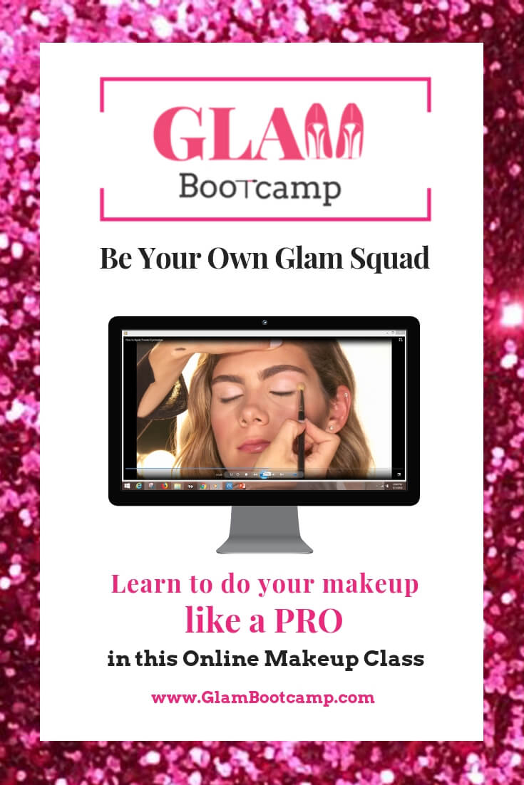 Glam Bootcamp Online Makeup Class Learn how to do your makeup like a Pro with easy, step by step instructions in this online makeup class #makeuptips #makeuptutorial