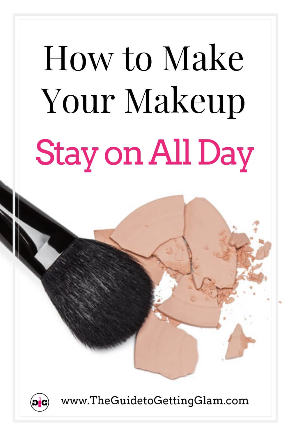 How to Make Your Makeup Stay on All Day. Learn these makeup artist insider tips to help your makeup last longer in this online course that will teach you the secrets to longwearing makeup